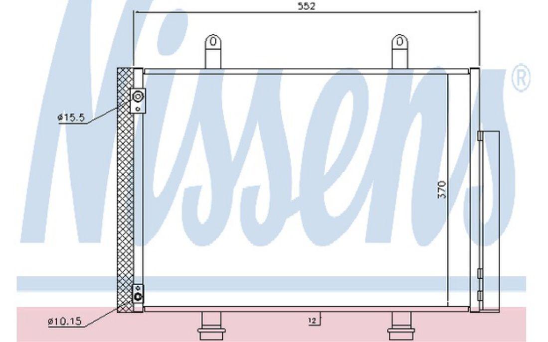 NISSENS Air Conditioning Condenser 940356