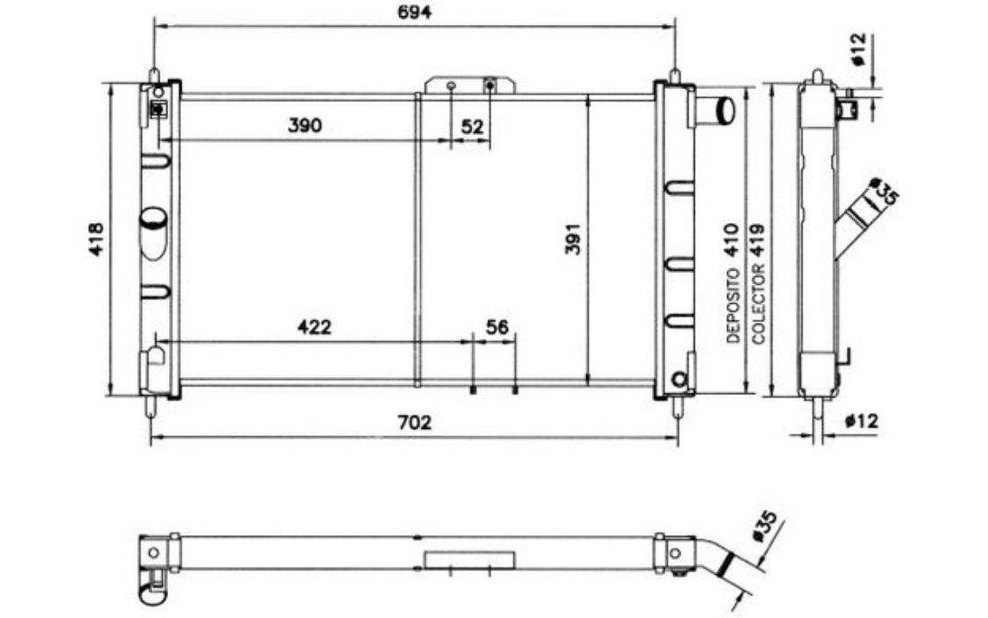 Super Nrf Radiator Engine Cooling For Daewoo Espero Aranos 52055 Wiring Digital Resources Talizslowmaporg