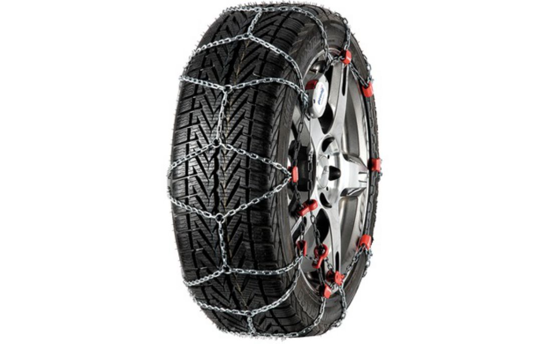 PEWAG 7mm Servo Sport 2x Snow Chains 185/65-15 Tyre For Hyundai i20 [2015]