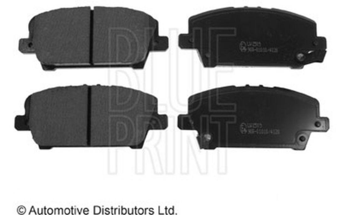 4x BLUE PRINT Front Brake Pads For HONDA CIVIC ADH24271