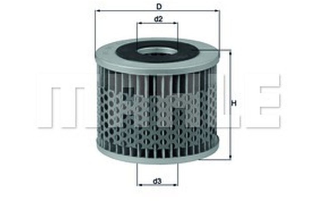 KNECHT Oil Filter For CITROEN DS OX 7