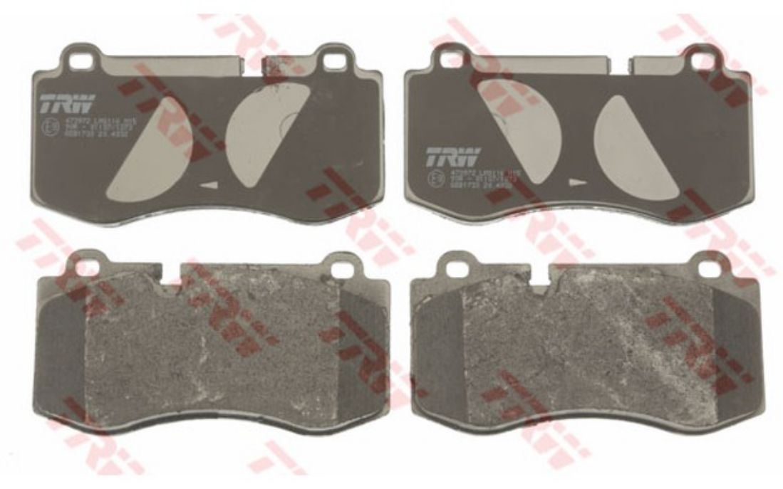 CLASS GDB1733 4x TRW Front Brake Pads For MERCEDES-BENZ S