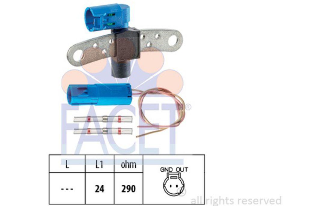 7700103069 Capteur position Vilbrequin PMH Dacia Logan Sandero 1.6i 7700101970