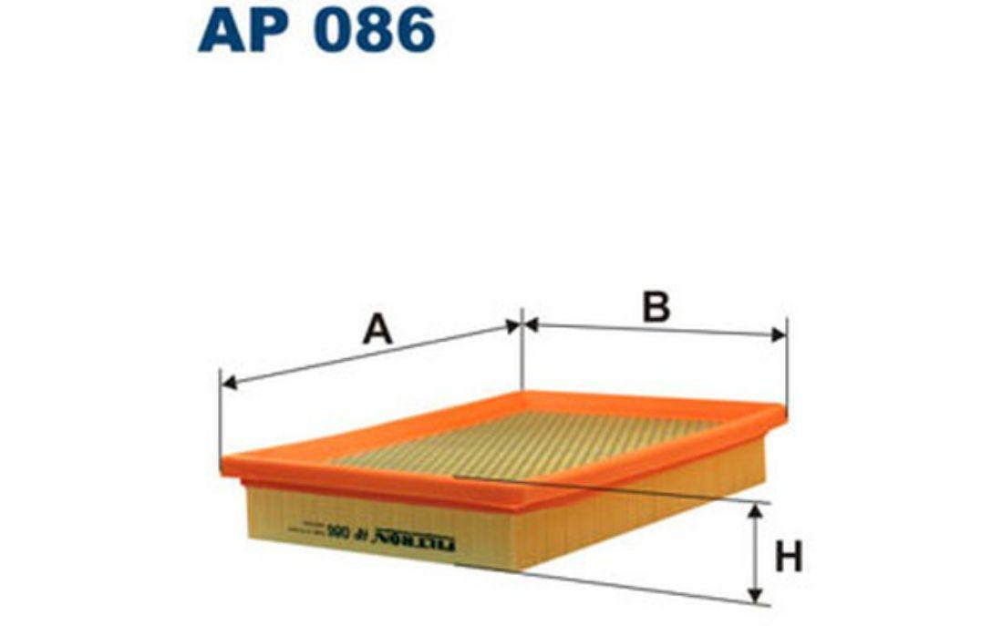 Filtre à air Filtron ap086