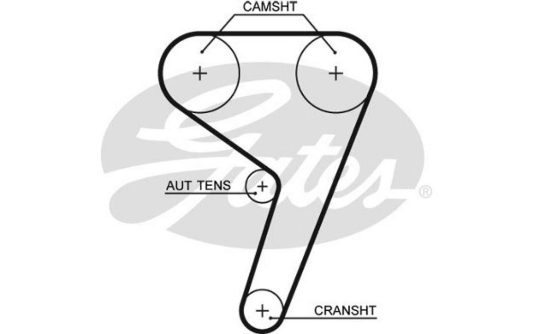 timing belt gates for ford fiesta 1 25i 16v 1 4i 16v 1 6