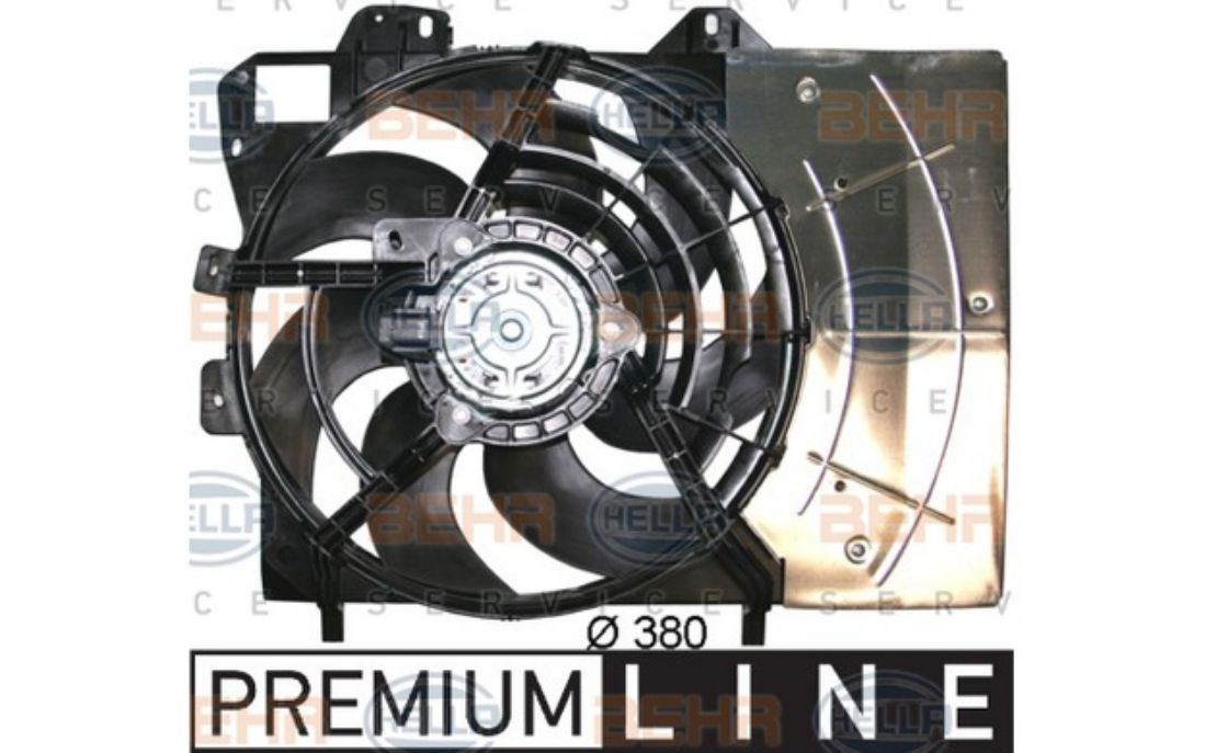 Ventilador del motor ventilador del radiador ventiladores