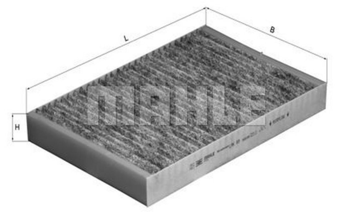 Fits Mercedes A-Class W176 Genuine Comline Activated Carbon Cabin Pollen Filter
