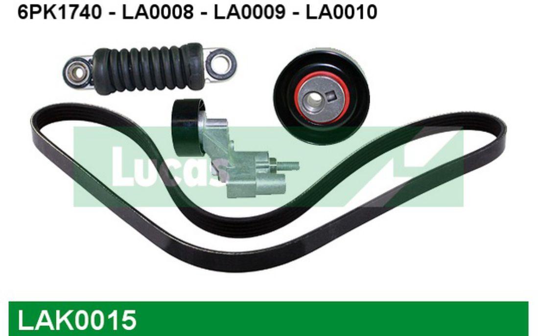 LUCAS Kit de courroies d accessoire Pour PEUGEOT 306 406 CITROEN XSARA  LAK0015 870b1d3be516