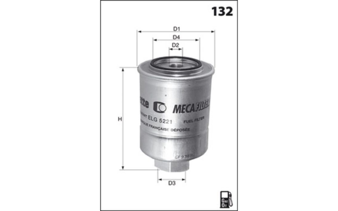 Mecafilter Fuel Filter 90mm For Nissan Terrano Vate Rhebaycouk: Nissan Terrano Fuel Filter At Gmaili.net