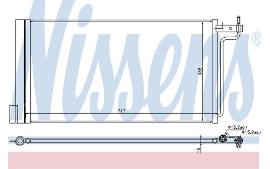 NISSENS Air Conditioning Condenser 940181