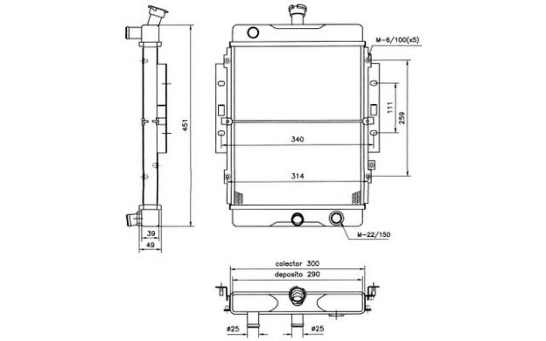 Nrf Car Radiator For Daihatsu Hijet 52123 Ebay