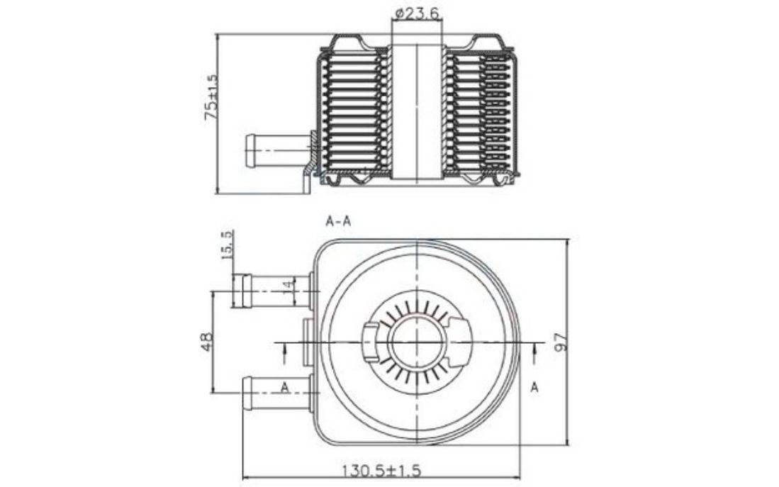 Nrf Engine Oil Cooler Fits Peugeot Boxer 20 Hdi 22 Ebay: Peugeot Expert Mk1 2004 Engine Diagram At Eklablog.co