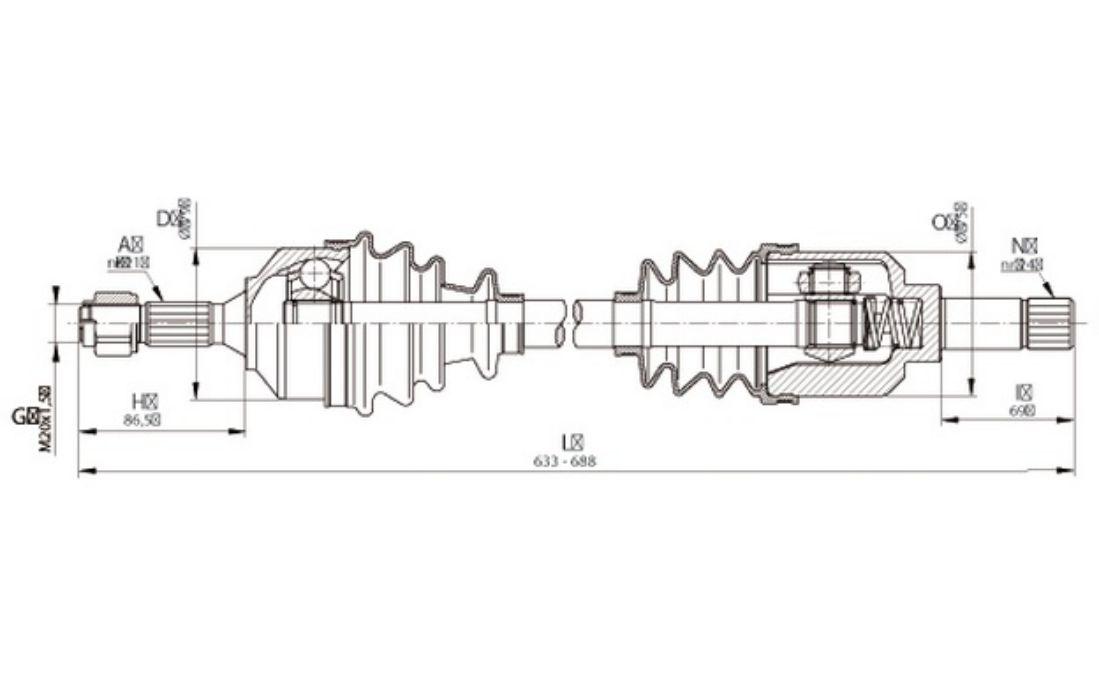 citroen c3 mk1 2002 2009 engine diagram