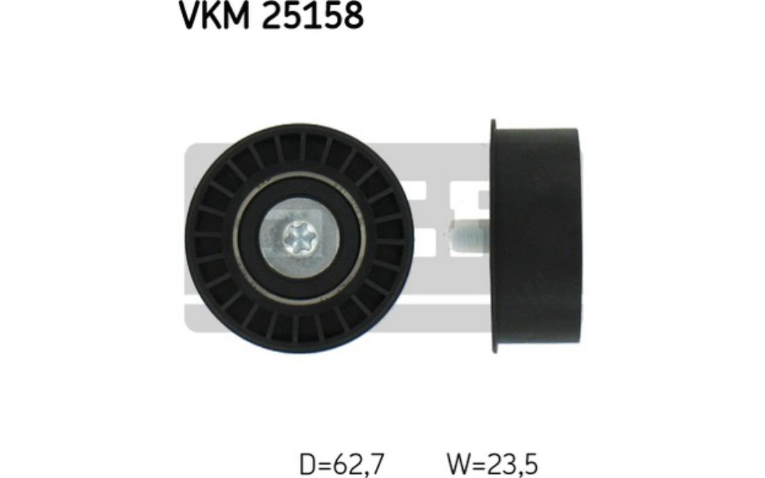 Galet-enrouleur-courroie-distribution-Opel-Tigra-1-4-16V-1-6-16V-SKF