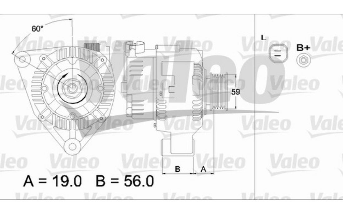 valeo alternator wiring diagram vw  diagram  auto wiring