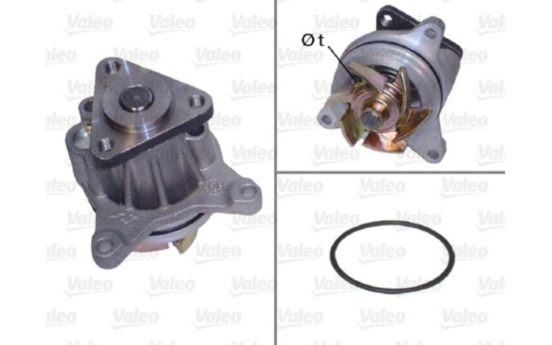 VALEO Water Pump For MAZDA 6 506694