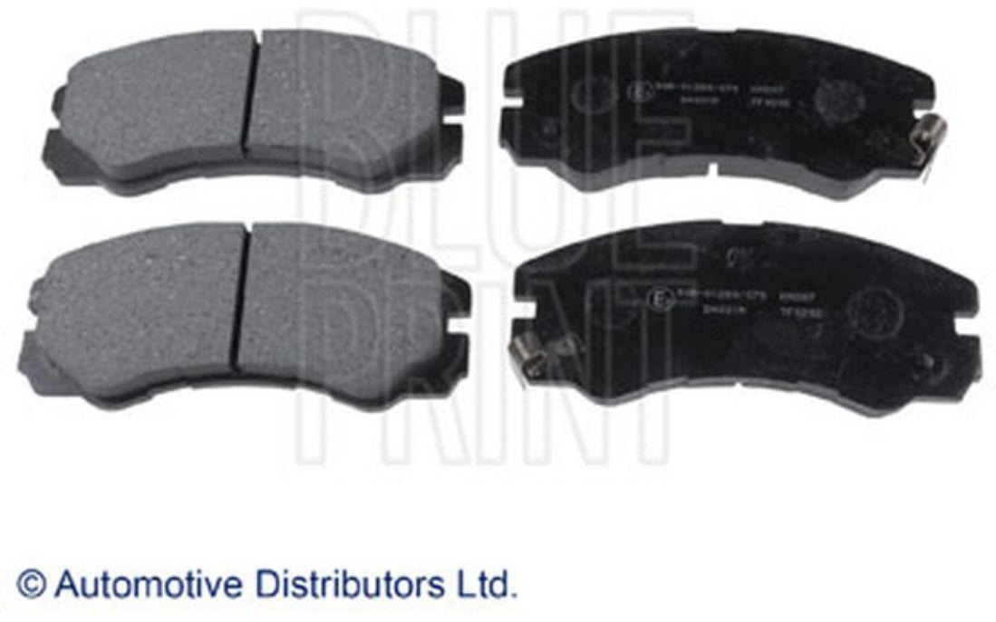 Blue Print ADT348603 Fitting Kit for brake pad set pack of one