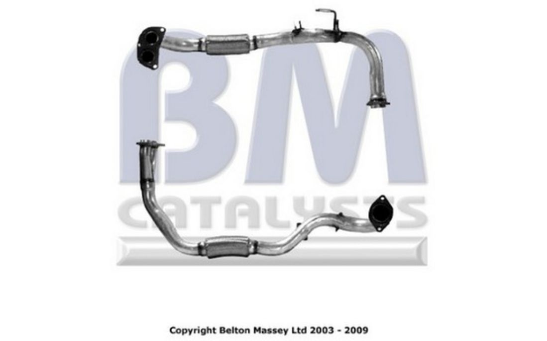 301775 EXHAUST PIPE FOR TOYOTA MR 2 2 1989-2000
