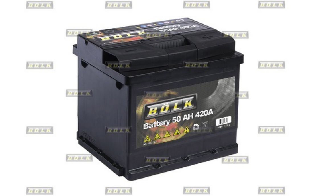 bolk batterie d marrage 50ah 420a pour renault clio scenic twingo megane maste ebay. Black Bedroom Furniture Sets. Home Design Ideas