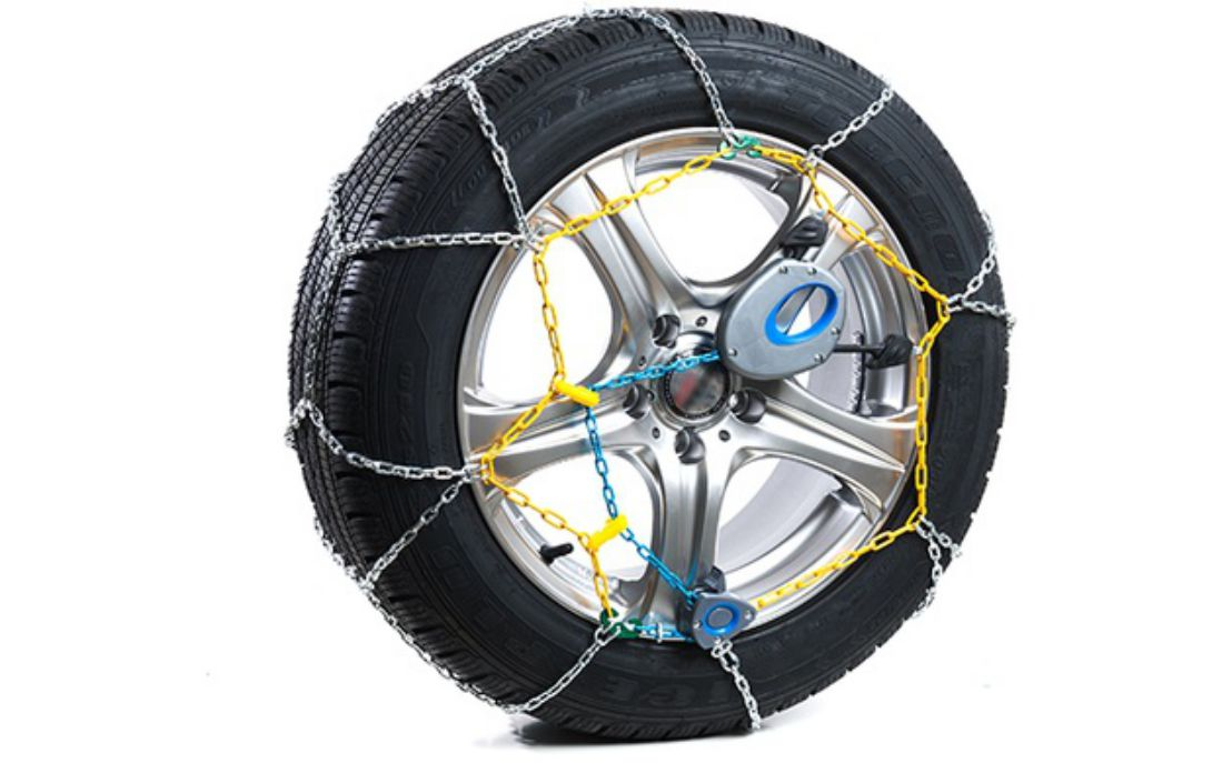 for Tyre Size 205//65//16 Part Number 100 Pair of Polar 9mm Snow Chains for Cars