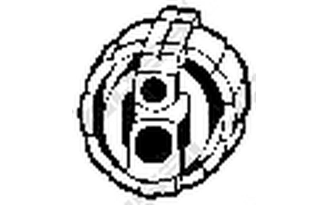 Bosal 255-108 Piezas de Montaje