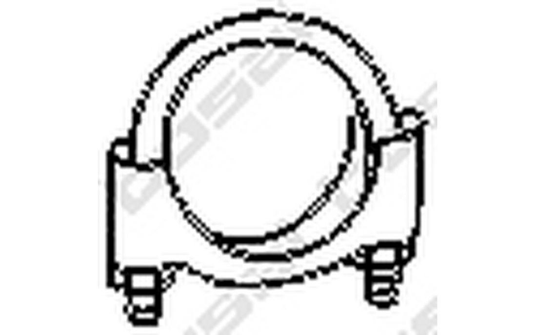 Bosal Silencer Fitting Kits For Daewoo Matiz Ford Ka 250 238