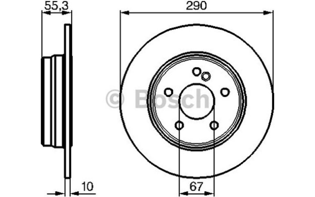 Bremsscheibe 2 x ATE 24.0110-0217.1