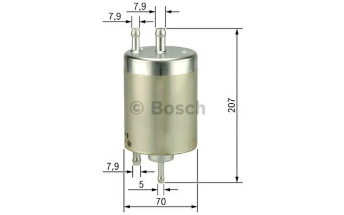 f 026 403 009 Filtro de combustible Bosch