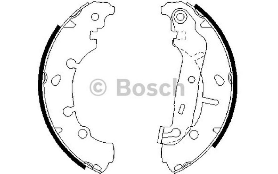 Genuine Mercedes 190 A124 A208 C124 C208 R129 Cap BOSCH essuie-glace arrière Bras 1248240349