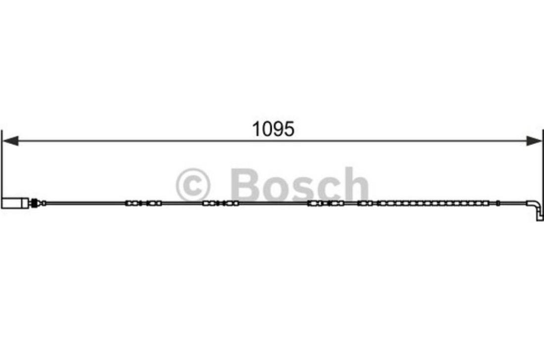 BOLK Témoin d/'usure plaquettes de frein Pour BMW Série 3 5 1 BOL-C071018