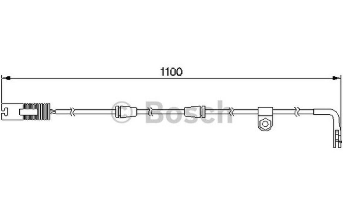 desgaste de los frenos Ferodo FWI310 Contacto de aviso 1 pieza
