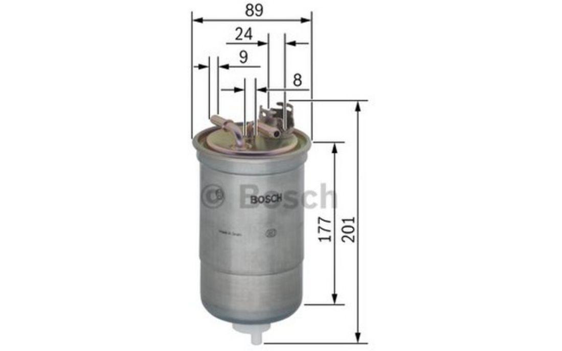 Bosch Moteur Filtre à huile Fits Skoda Fabia Mk2 1.4 Garantie 5 ans NEUF