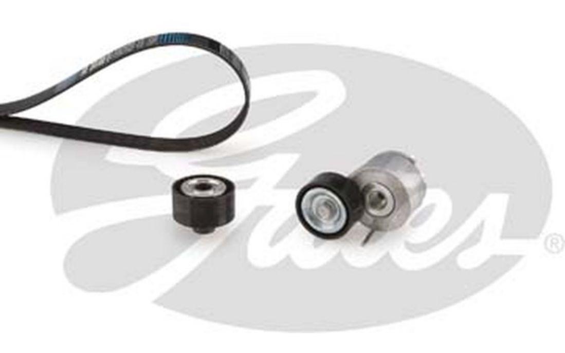 Kit de courroies d/'accessoire pour Peugeot 206 2.0 HDI 90 GATES