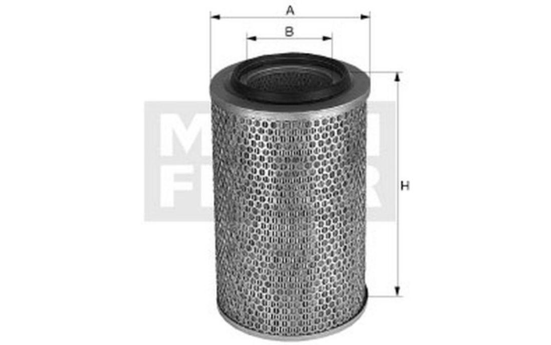 C 15 127 Luftfilter Filter MANN-FILTER