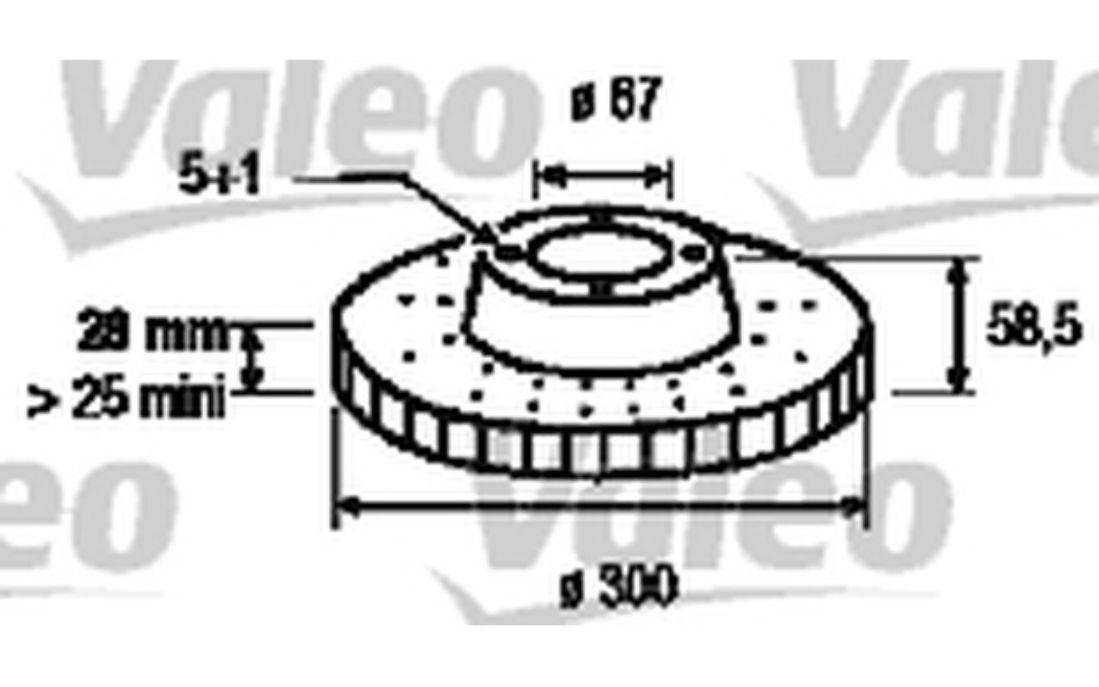 Mercedes vito viano avant disques de frein et plaquettes de frein 300mm ventilé disques