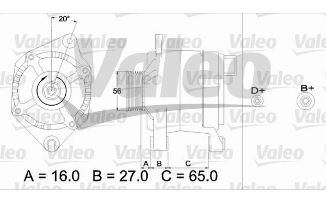 Lichtmaschine Citroen Berlingo,Xsara//Peugeot 306,406