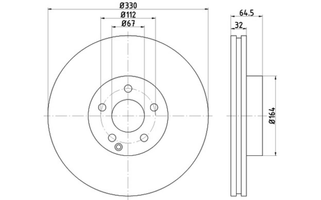 2x TEXTAR Discos de Freno Traseros Ventilado 330mm 92119903