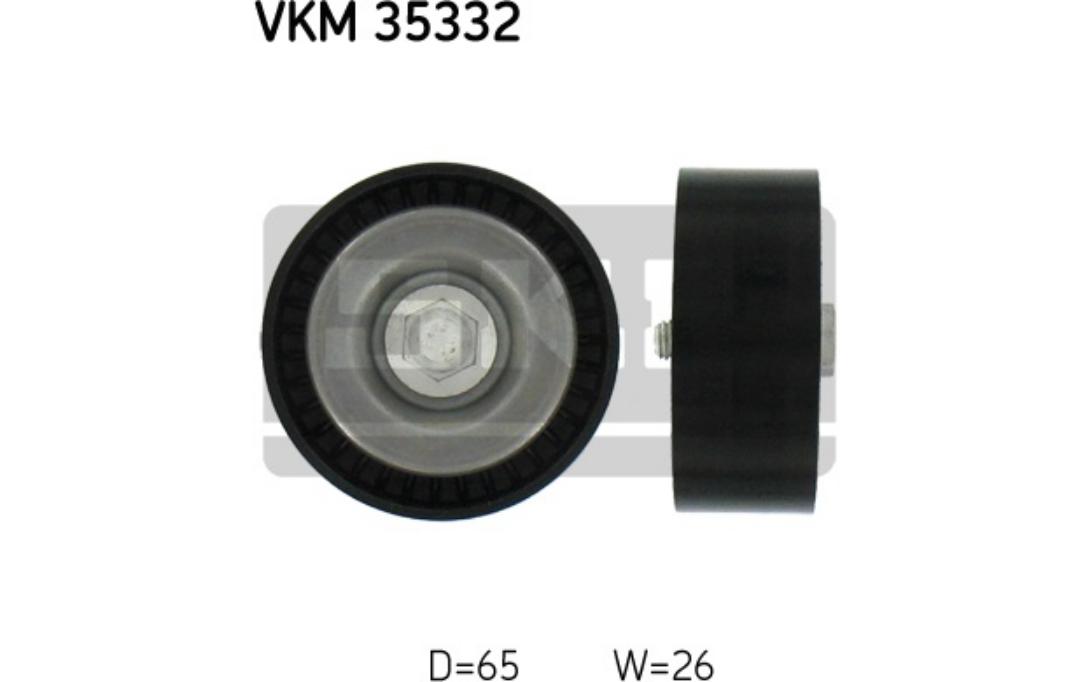 SKF Galet enrouleur courroie d'accessoire Pour OPEL INSIGNIA VKM 35332