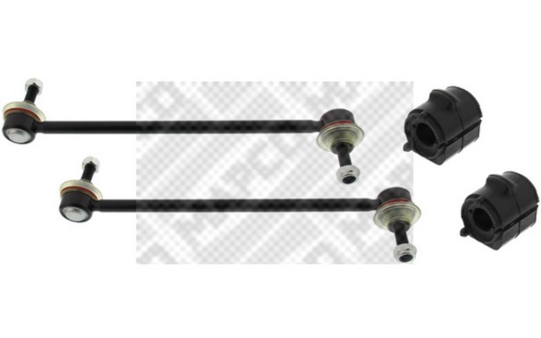 MAPCO Kit riparazione Sopporto stabilizzatore Anteriore Sx Assale Dx 53774