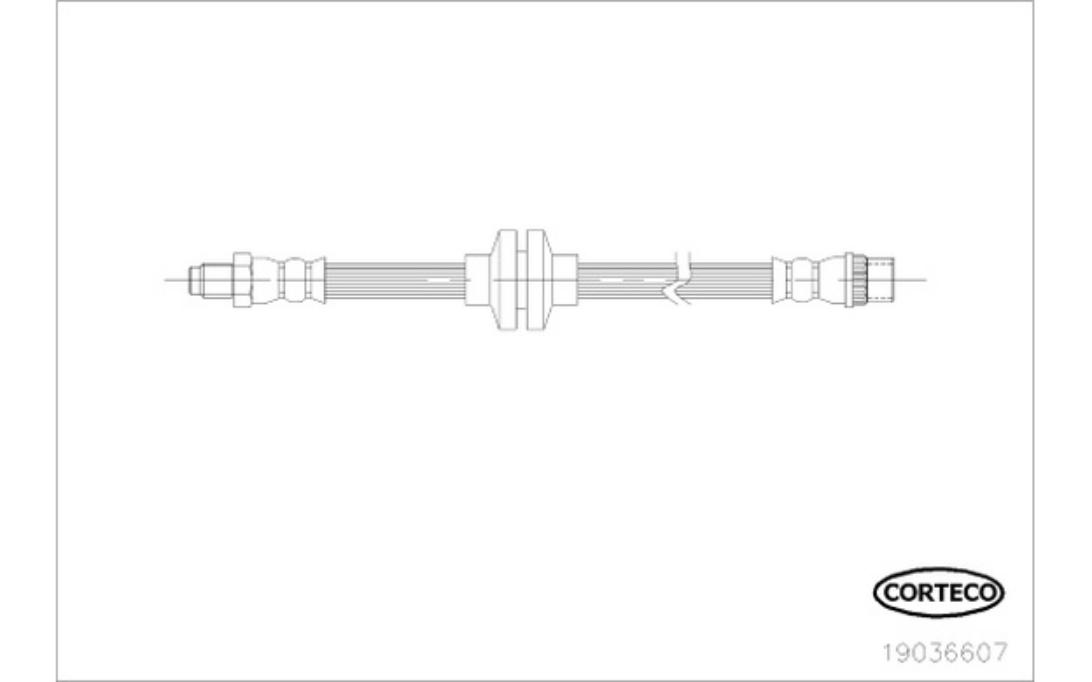 MARCA-CORTECO 19018443 Flessibile del freno