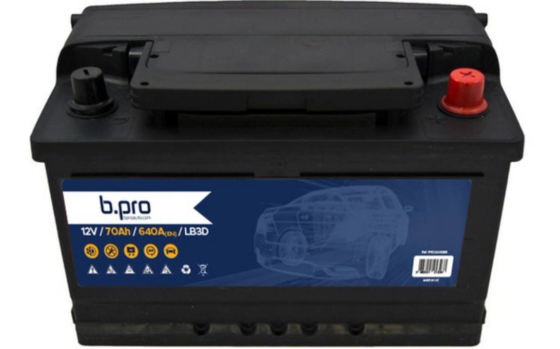 B-PRO Batterie de démarrage 70 Ah//640 A Pour FORD SIERRA SCORPIO PRO-0418008
